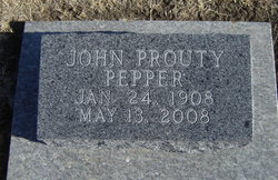 Pepper, John Prouty, 1908-2008