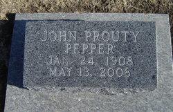 Pepper, John Prouty, 1908-2008