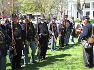 15th Massachusetts Regiment re-enactors